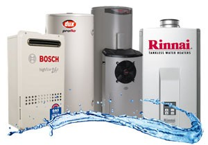 Hot water system repairs all makes